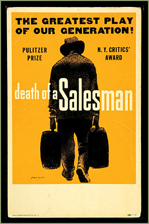 death of a salesman main characters